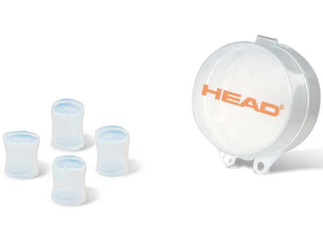 Head Silicone Moulded Bouchons d'oreille, clear